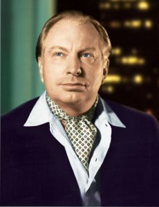 L. Ron Hubbard or L.R.H to close friends