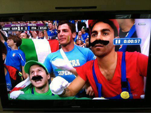 Mario followers know no shame
