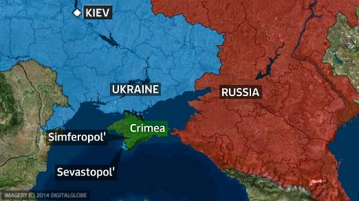 Crimea - Between a rock and a hard place       *SkyNews